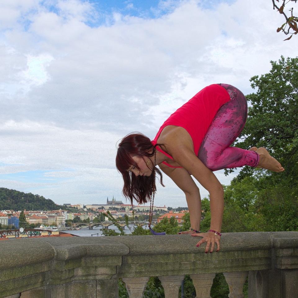 Katerina Yoga Pose