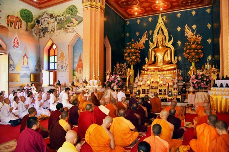 Buddha Purnima celebration at Bodh Gaya