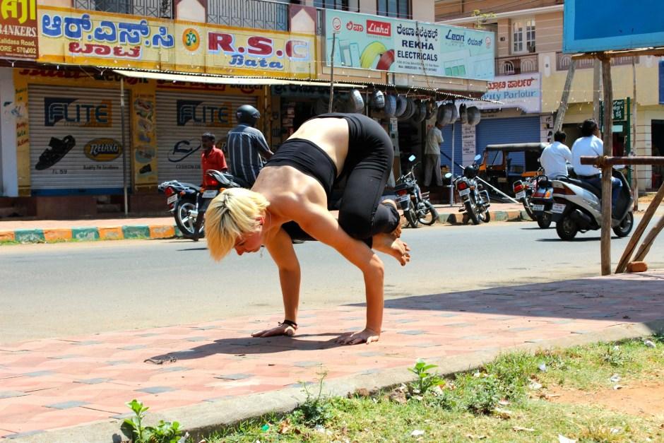 Crane Pose - Advanced Yoga Asana