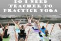 Do I need a teacher to practice Yoga