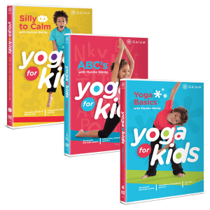 YogaKids DVDs 3-pack
