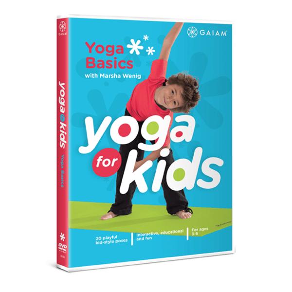 YogaKids Original DVD - Yoga Basics