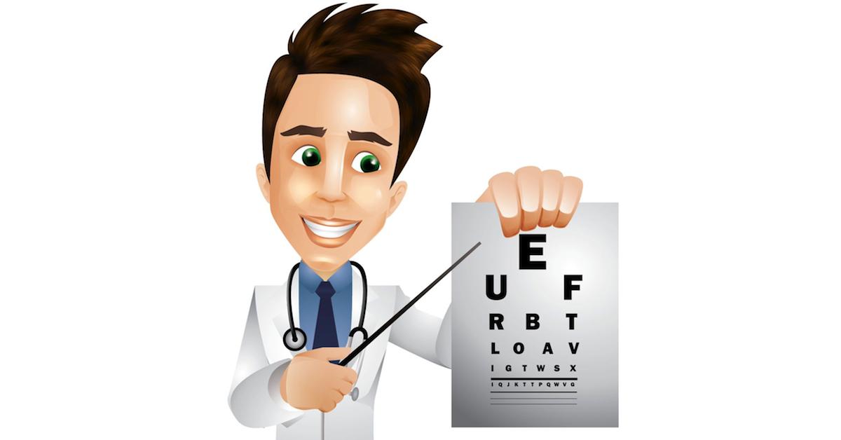 Cartoon Eye Doctor