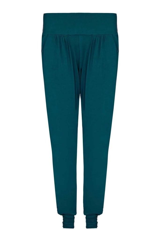 Harem_Teal Yoga Pants