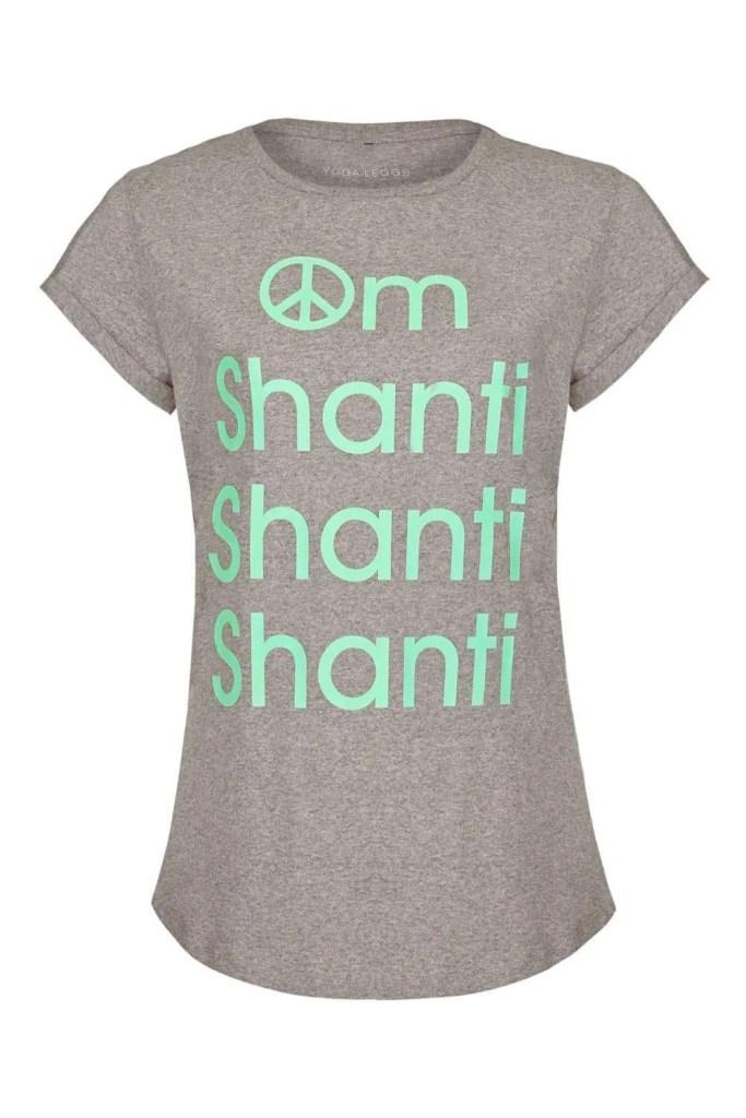 Om Shanti Yoga Tee