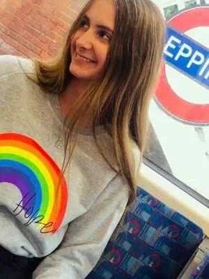 Yoga Leggs Rainbow & Hope Collection