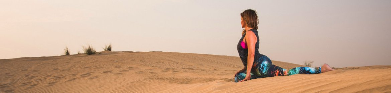 high waist yoga pants sand dune