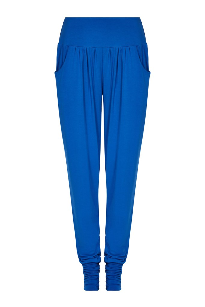 Blue harem pants_F