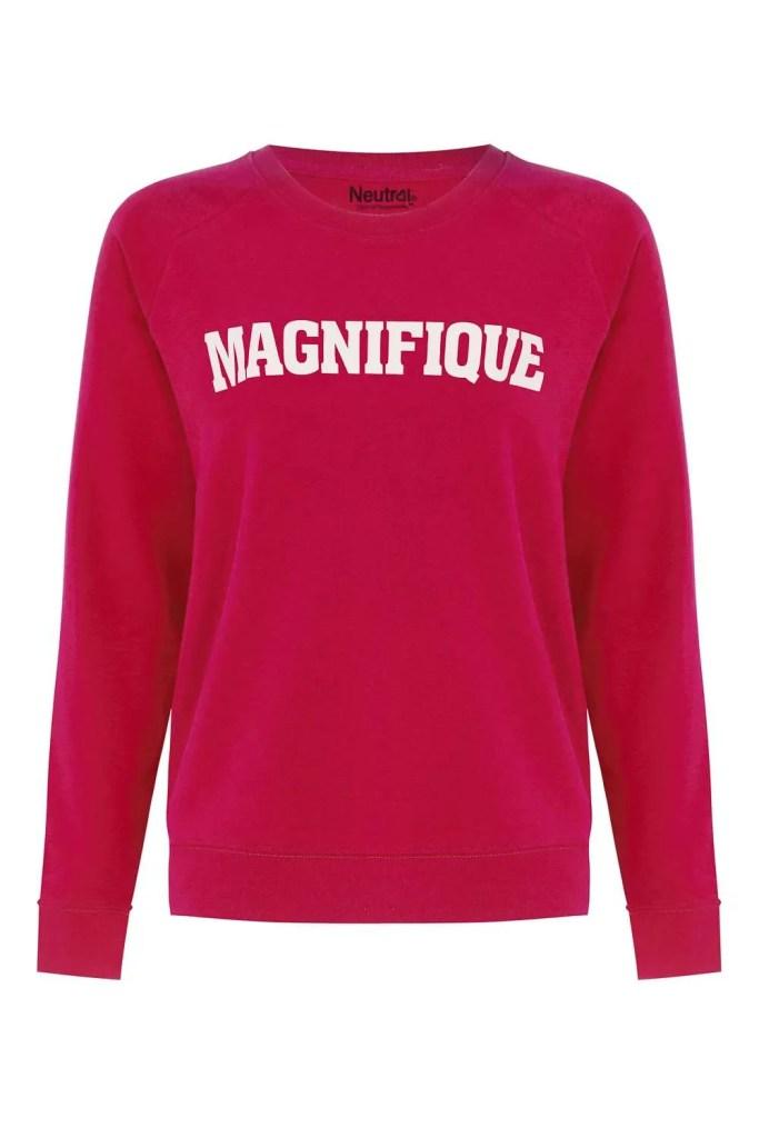 Pink magnifique sweater_F