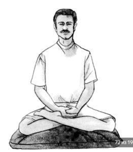Cum să meditezi în poziția de lotus