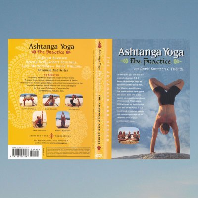 Ashtanga yoga – Advanced series A+B, David Swenson VHS