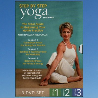 Yoga Journals Beginning Yoga Step by Step Collection 3 x DVD