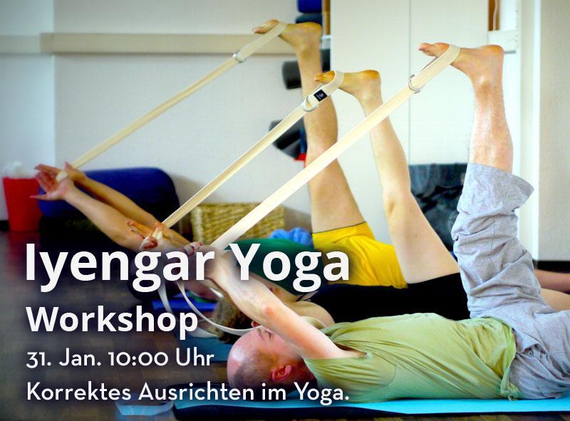 Iyengar Yoga Workshop 2 am 31. Jan. 15