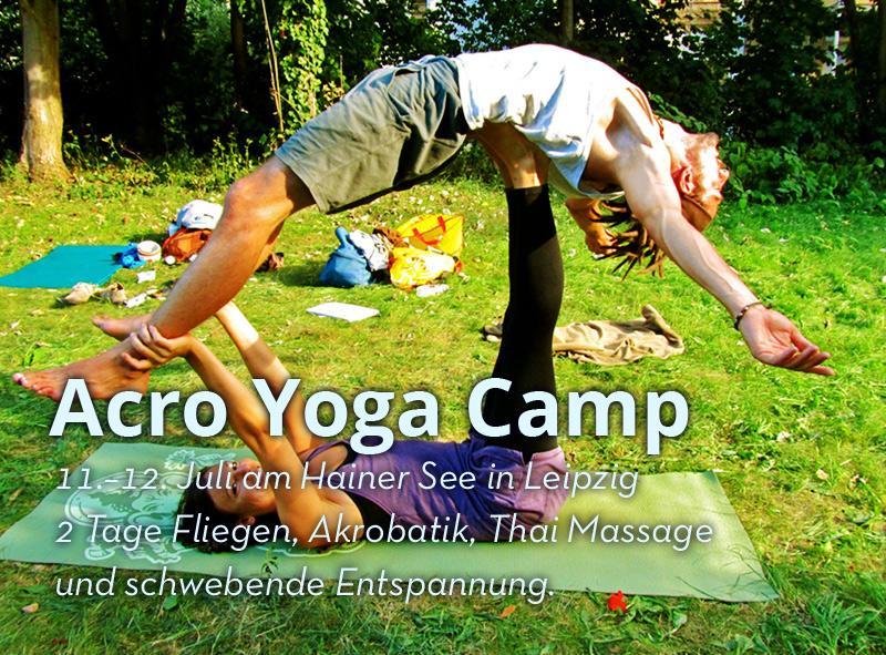 11. -12. Juli Acro Yoga Camp