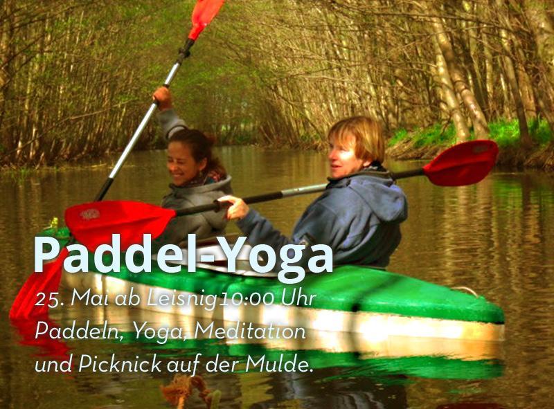 !! INFO !! 25. Mai Paddel-Yoga auf der Mulde