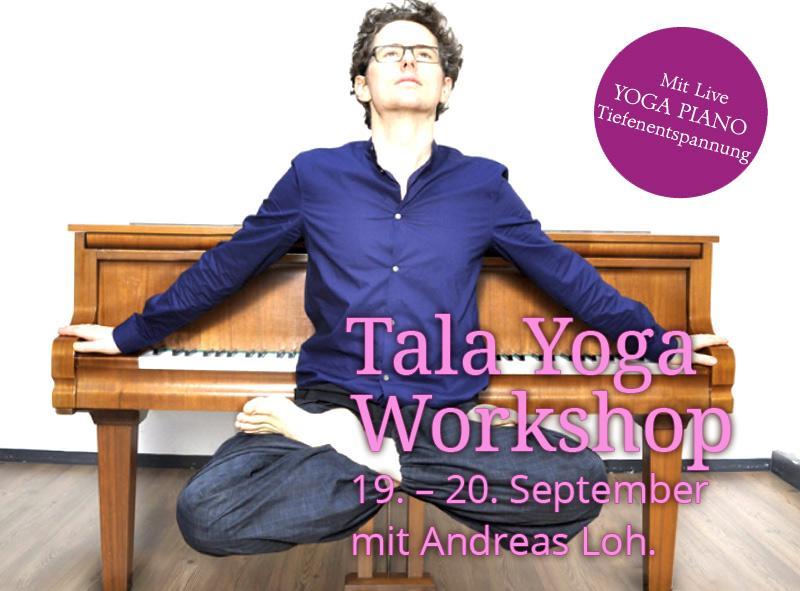 19./20. Sept. Tāla Yoga mit Andreas Loh