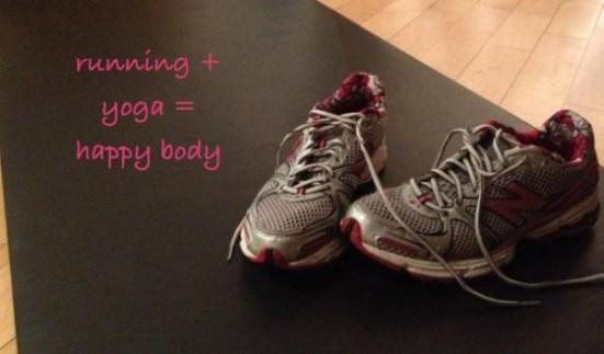 Running and yoga