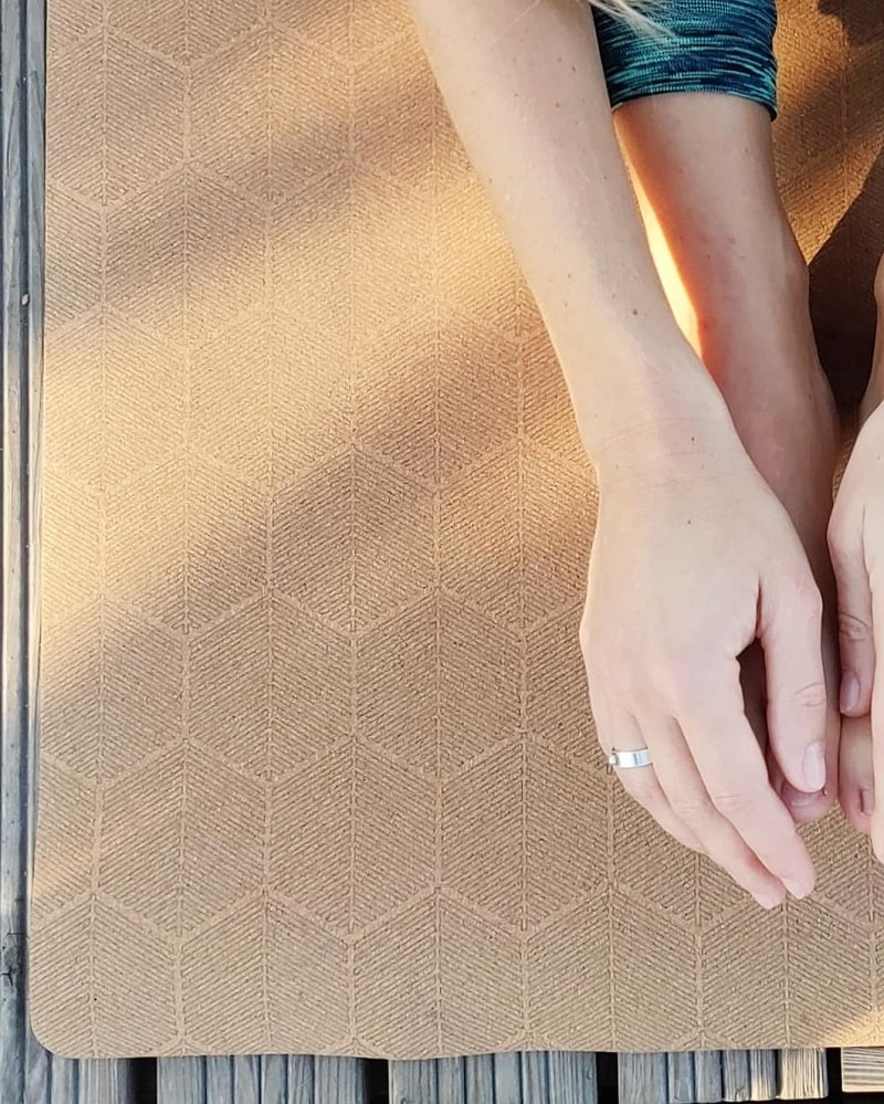 tapis de yoga ruche