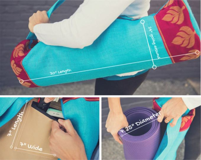 Best Designs and Beautiful Yoga Mats BAGS -Easy To Carry