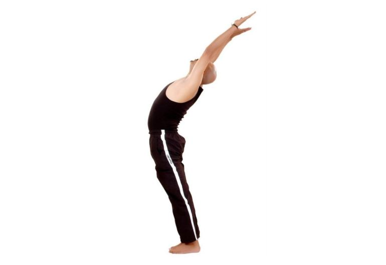 Hasta Uttanasana (Raised Arms Pose)