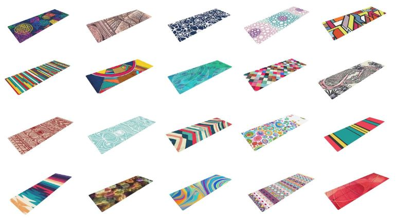 Kess InHouse_Goodlooking_Design_Beautiful_Yoga-Mats