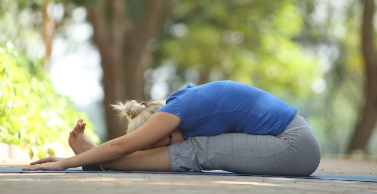 Yoga Asana_Paschimottanasana