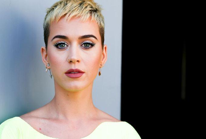 Katy Perry Doing Meditation