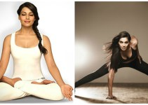 bipasa basu doing yoga