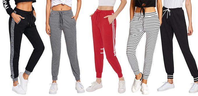 SweatyRocks Women Jogger Pants