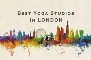 Best yoga studios in london