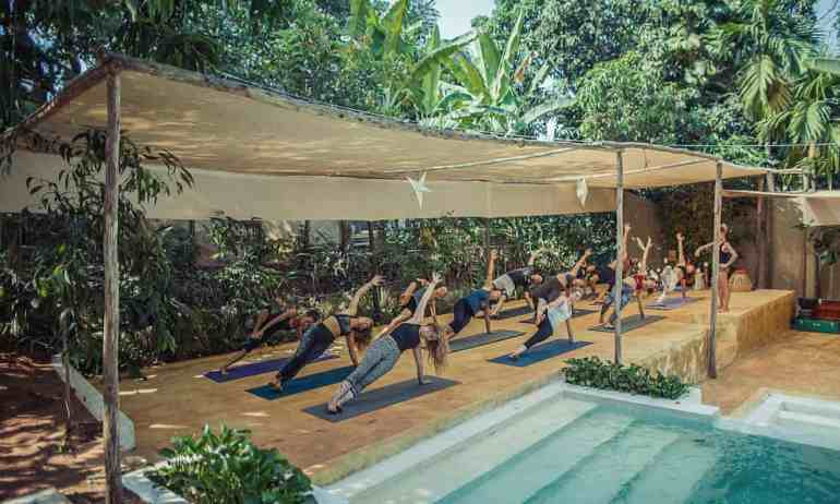 Best Yoga retreats in india