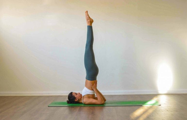 shoulderstand (salamba sarvangasana)
