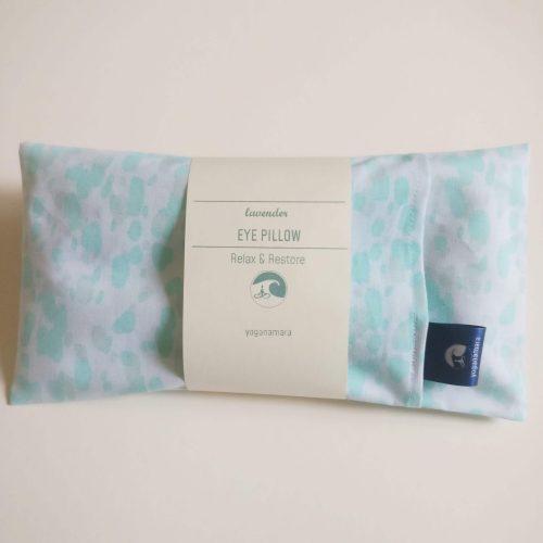 Water colours eye pillow