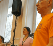 John Abbot at Russian Yoga Journal Conference 2011