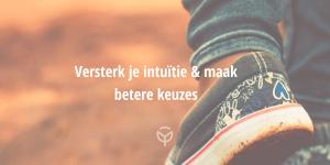 Versterk je intuitie