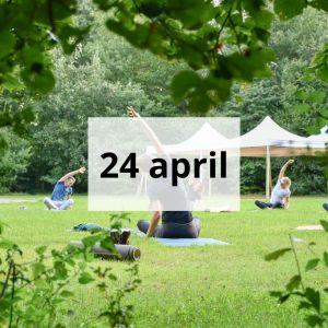 Yoga en natuur 24 april