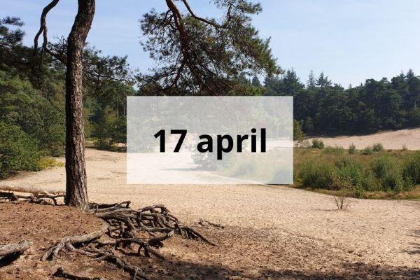 Verkenning 17 april