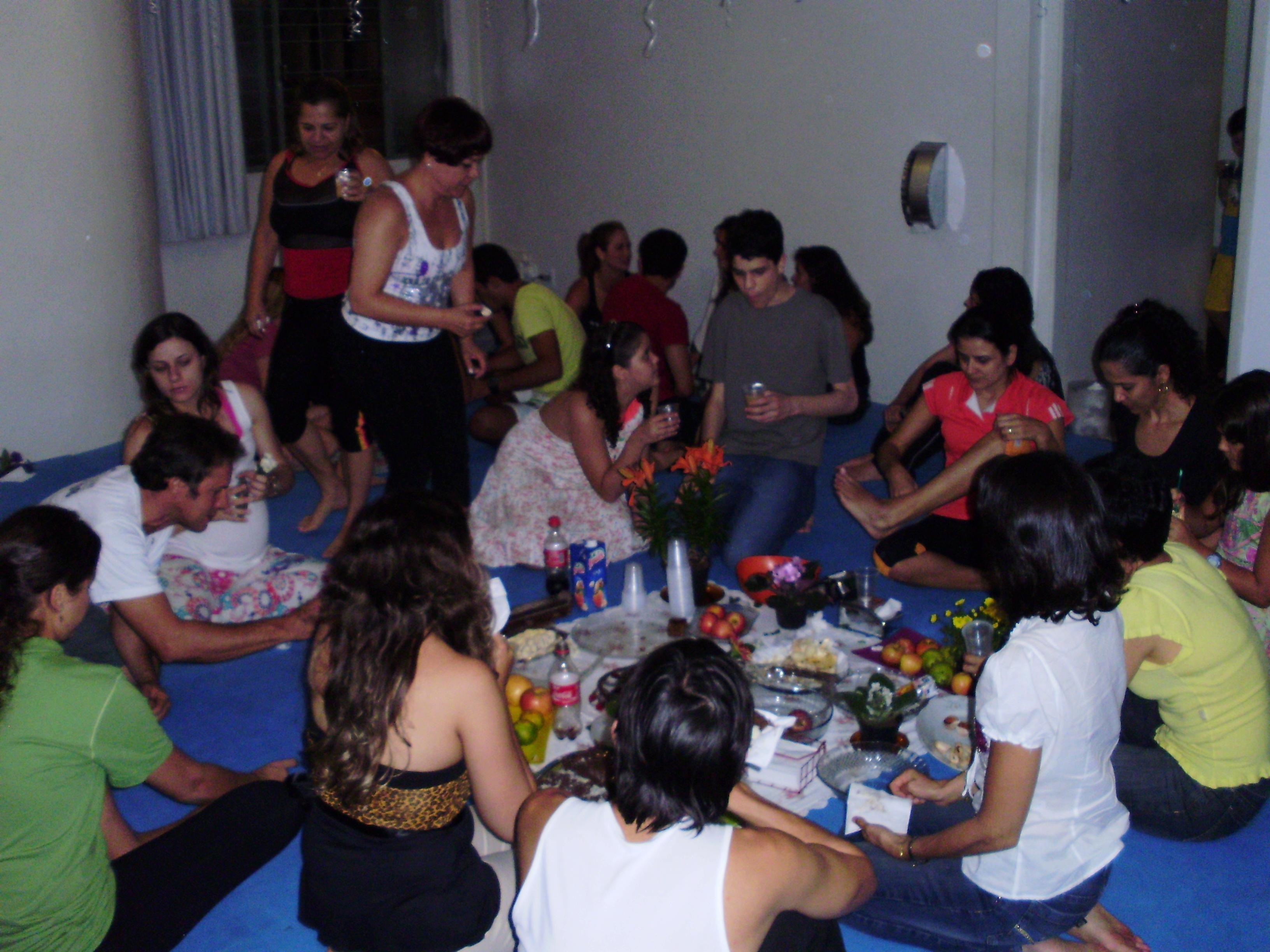 Sat chakra - comemoração do aniversário da Unidade Bueno em Goiás