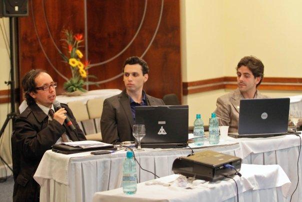 Equipe Yôga Office na palestra sobre vendas