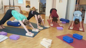 Jugendliche Yoga