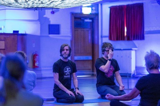 pop-up Wirral Yoga Yogasmiths