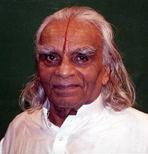BKS Iyengar, Guru Purnima, 1995. Photo: © 1995 Bruce M. Roger
