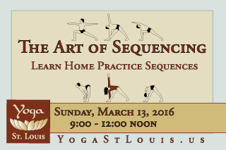 Iyengar Yoga Sequencing Workshop