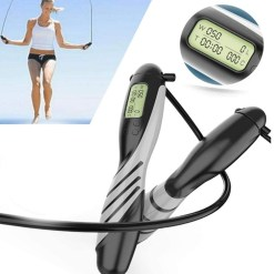 Heavy Weight Speed Jump Rope with LED Display Digital Weight Calories Time Setting