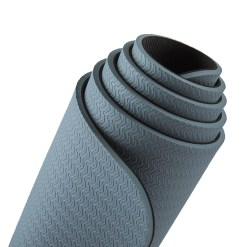 TPE natural rubber yoga mat