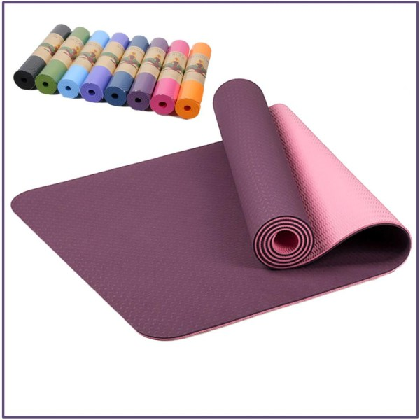 arriving details for various styles 6 mm Colorful Yoga Mat