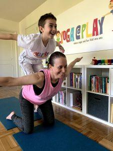 Kids Yoga - Double Headed Monster