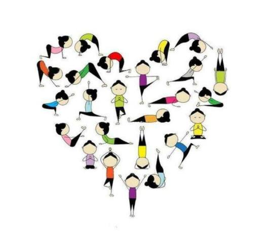 yoga-love-heart