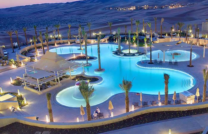 Estos son los mejores hoteles en el desierto