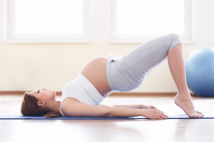 Prenatale yoga bij YogaVé in Deinze